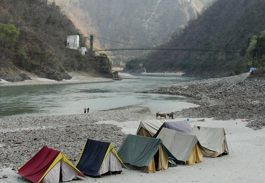 Camping in Uattarakhand